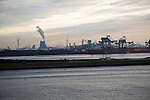 Heavy industry, Maasvlakte, Europoort, Port of Rotterdam, Hook of Holland, Netherlands
