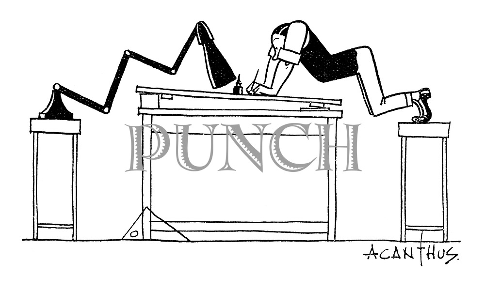 Punch Cartoons By Acanthus Punch Magazine Cartoon Archive
