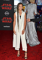 "Storm Reid at the world premiere for ""Star Wars: The Last Jedi"" at the Shrine Auditorium. Los Angeles, USA 09 December  2017<br /> Picture: Paul Smith/Featureflash/SilverHub 0208 004 5359 sales@silverhubmedia.com"