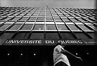 Undated file photo from the 1970's -  Montreal. Quebec , Canada  - UQAM