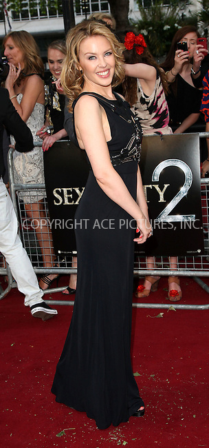 WWW.ACEPIXS.COM . . . . .  ..... . . . . US SALES ONLY . . . . .....May 27 2010, New York City....Kylie Minogue at the premiere of Sex and the City 2 on May 27 2010 in London....Please byline: FAMOUS-ACE PICTURES... . . . .  ....Ace Pictures, Inc:  ..Tel: (212) 243-8787..e-mail: info@acepixs.com..web: http://www.acepixs.com