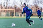 04.12.2018, Trainingsgelaende am Weserstadion, Bremen, GER, 1.FBL, Training SV Werder Bremen<br /> <br /> im Bild <br /> Marco Friedl (Werder Bremen #32), <br /> <br /> Foto &copy; nordphoto / Ewert