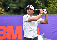 22nd July 2020; Blaine, Minnesota, USA;  Will Gordon hits a tee shot during the 3M Open Compass Challenge at TPC Twin Cities in Blaine, Minnesota
