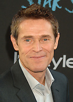 NEW YORK CITY, NY, USA - JUNE 02: Willem Dafoe at the New York Premiere Of 'The Fault In Our Stars' held at Ziegfeld Theatre on June 2, 2014 in New York City, New York, United States. (Photo by Celebrity Monitor)