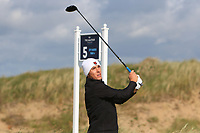 Zan Luka Stirn (Slovenia) during Round 1 of the The Amateur Championship 2019 at The Island Golf Club, Co. Dublin on Monday 17th June 2019.<br /> Picture:  Thos Caffrey / Golffile<br /> <br /> All photo usage must carry mandatory copyright credit (© Golffile | Thos Caffrey)