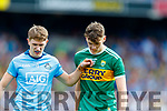Michael Fitzsimons, Dublin in action against David Clifford, Kerry during the GAA Football All-Ireland Senior Championship Final match between Kerry and Dublin at Croke Park in Dublin on Sunday.