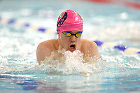 Picture by Richard Blaxall/SWpix.com - 14/04/2018 - Swimming - EFDS National Junior Para Swimming Champs - The Quays, Southampton, England - George Kelman-Johns of Sborne Storm during the Men's Open 100m Breaststroke