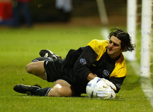 Julian Speroni, Dundee.pic willie vass