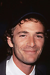 Luke Perry attends the Fox Network Upfronts  at Lincoln Center on May 20, 1999 in New York City.