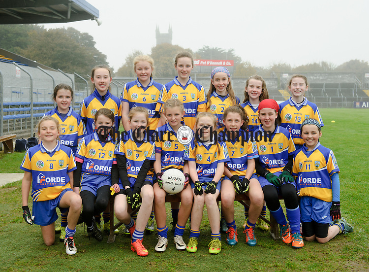 Toonagh NS at the Cumann na mBunscoil Finals at Cusack Park. Photograph by John Kelly.