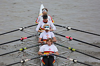Crew: 198  Tideway Scullers School   WD 4x<br /> <br /> Veteran Fours Head 2018<br /> <br /> To purchase this photo, or to see pricing information for Prints and Downloads, click the blue 'Add to Cart' button at the top-right of the page.