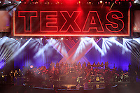 Texas perfuming on stage during the Ryder Cup Gala Concert 2014 at SSE Hydro on Wednesday 24th September 2014.<br /> Picture:  Thos Caffrey / www.golffile.ie