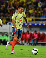 BOGOTA - COLOMBIA, 03-06-2019: Luis Diaz jugador de Colombia en acción durante partido amistoso entre Colombia y Panamá jugado en el estadio El Campín en Bogotá, Colombia. / Luis Diaz player of Colombia in action during a friendly match between Colombia and Panama played at Estadio El Campin in Bogota, Colombia. Photo: VizzorImage / Nelson Rios / Cont