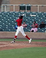 Louis Pierre participates in the MLB International Showcase at Salt River Fields on November 12-14, 2019 in Scottsdale, Arizona (Bill Mitchell)