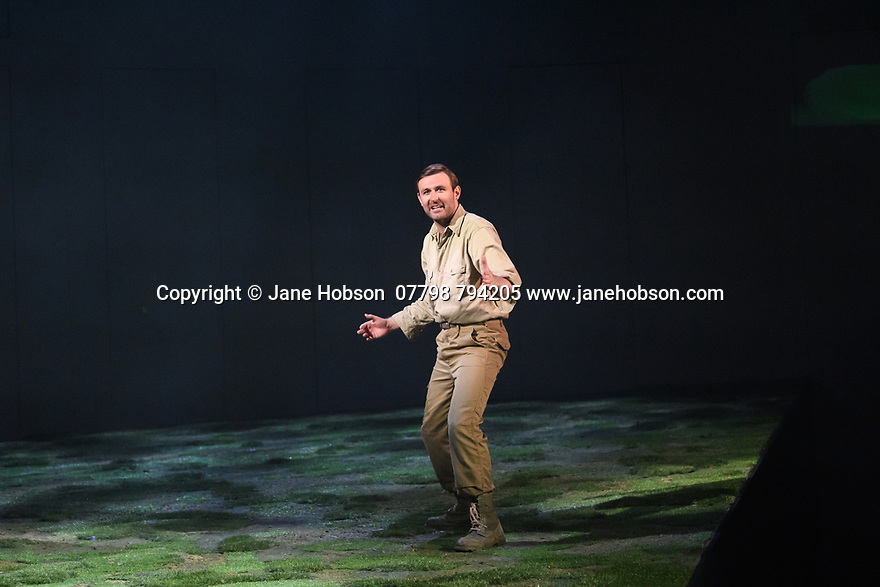 "The National Theatre of Great Britain presents ""Peter Gynt"", by David Hare, directed by Jonathan Kent, at the Festival Theatre, as part of the Edinburgh International Festival. Picture shows: James McArdle (Peter Gynt)."