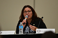 Baltimore, MD - July 24, 2017: U.S. Senator Tammy Duckworth speaks at the Federal Policy Legislative Workshop during the 108th Convention of the NAACP in Baltimore, MD, July 24, 2017  (Photo by Don Baxter/Media Images International)