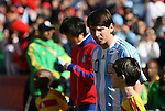 17 JUN 2010: Lionel Messi (ARG). The Argentina National Team defeated the South Korea National Team 4-1 at Soccer City Stadium in Johannesburg, South Africa in a 2010 FIFA World Cup Group E match.