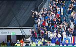 Solna 2014-08-13 Fotboll Allsvenskan AIK - Djurg&aring;rdens IF :  <br /> Djurg&aring;rdens supportrar i br&aring;k med AIK:s supportrar innan avspark <br /> (Foto: Kenta J&ouml;nsson) Nyckelord:  AIK Gnaget Friends Arena Allsvenskan Derby Djurg&aring;rden DIF supporter fans publik supporters slagsm&aring;l br&aring;k fight fajt gruff