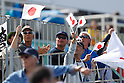 Japanese fans, <br /> AUGUST 11, 2016 - Rowing : <br /> Men's Lightweight Double Sculls Semi-fainal <br /> at Lagoa Stadium <br /> during the Rio 2016 Olympic Games in Rio de Janeiro, Brazil. <br /> (Photo by Sho Tamura/AFLO SPORT)