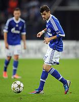FUSSBALL   CHAMPIONS LEAGUE   SAISON 2012/2013   GRUPPENPHASE   FC Schalke 04 - Montpellier HSC                                   03.10.2012 Tranquillo Barnetta (FC Schalke 04) Einzelaktion am Ball