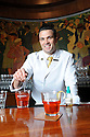 Matthew Steinvorth at Sazerac bar in Roosevelt Hotel