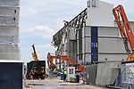 Demolition takes place at White Hart Lane former home of Tottenham Hotspur in London. Picture date 23rd June 2017. Picture credit should read: David Klein/Sportimage