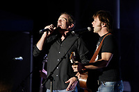 Montreal (Qc) CANADA, July 7, 2007 - <br /> <br /> Garou , Daniel Boucher (R)<br />  onstage at  Live Earth in Montreal (montreal sur Terre) , July 7, 2007.<br /> photo (c)  Images Distribution