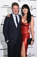 Alex Bilmes and Daisy Lowe<br /> arriving for the Esquire Townhouse 2019 launch party, London.<br /> <br /> ©Ash Knotek  D3528 16/10/2019