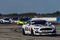 2017 IMSA Continental Tire SportsCar Challenge<br /> Visit Sebring 120<br /> Sebring International Raceway, Sebring, FL USA<br /> Friday 17 March 2017<br /> 60, Ford, Ford Mustang, GS, Jade Buford, Scott Maxwell<br /> World Copyright: Jake Galstad/LAT Images
