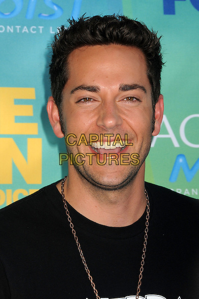 Zachary Levi.2011 Teen Choice Awards - Arrivals held at Gibson Amphitheatre, Universal City, California, USA..August 7th, 2011.headshot portrait facial hair stubble smiling .CAP/ADM/BP .©Byron Purvis/AdMedia/Capital Pictures.