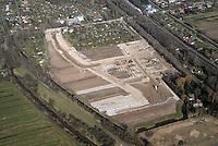 Gleisdreieck Wohnungsbau : EUROPA, DEUTSCHLAND, HAMBURG 02.04.2016: im Bau befindliches Wohngebiet Gleisdreieck Mittlerer Landweg