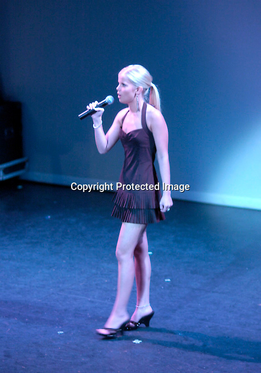 """Crystal Hunt performing..at a performance of """" Michael Minery's Tapaholics"""", a part of the International Dance Fesival NYC on August 7, 2004 ..at the Duke Theatre. ..Photo by Robin Platzer, Twin Images"""