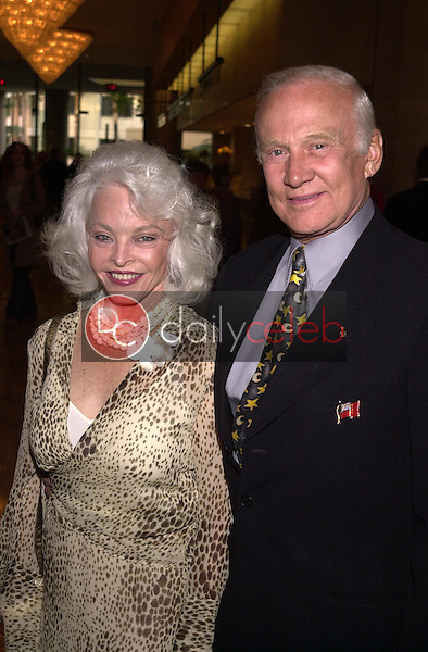 Buzz Aldrin and wife Lois