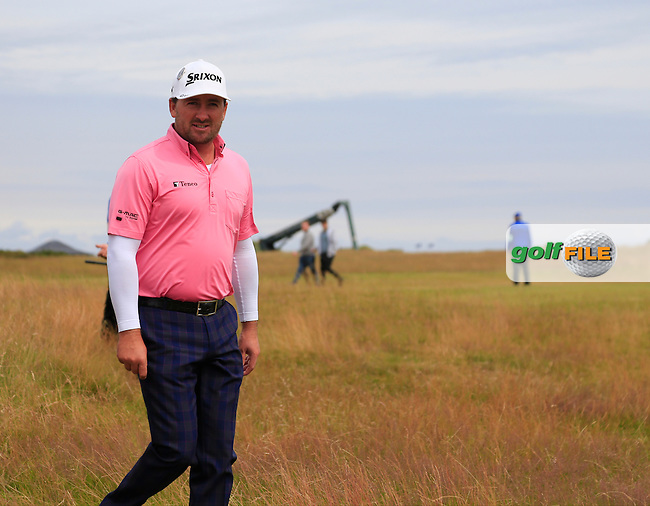 Graeme McDOWELL (NIR) walks off the 16th tee during Monday's Final Round of the 144th Open Championship, St Andrews Old Course, St Andrews, Fife, Scotland. 20/07/2015.<br /> Picture Eoin Clarke, www.golffile.ie