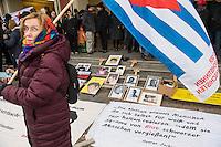 Demonstration in Dessau anlaesslich des 12. Todestages des Fluechtling Oury Jalloh, der am 7. Januar 2005 unter bislang nicht geklaerten Umstaenden in Polizeihaft, in der Zelle gefesselt, bei lebendigem Leib verbrannte.<br /> An der Demonstration beteiligten sich ca. 1.500 Menschen.<br /> 7.1.2017, Dessau<br /> Copyright: Christian-Ditsch.de<br /> [Inhaltsveraendernde Manipulation des Fotos nur nach ausdruecklicher Genehmigung des Fotografen. Vereinbarungen ueber Abtretung von Persoenlichkeitsrechten/Model Release der abgebildeten Person/Personen liegen nicht vor. NO MODEL RELEASE! Nur fuer Redaktionelle Zwecke. Don't publish without copyright Christian-Ditsch.de, Veroeffentlichung nur mit Fotografennennung, sowie gegen Honorar, MwSt. und Beleg. Konto: I N G - D i B a, IBAN DE58500105175400192269, BIC INGDDEFFXXX, Kontakt: post@christian-ditsch.de<br /> Bei der Bearbeitung der Dateiinformationen darf die Urheberkennzeichnung in den EXIF- und  IPTC-Daten nicht entfernt werden, diese sind in digitalen Medien nach §95c UrhG rechtlich geschuetzt. Der Urhebervermerk wird gemaess §13 UrhG verlangt.]