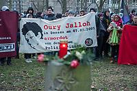 2018/01/07 Dessau | Oury Jalloh-Gedenken