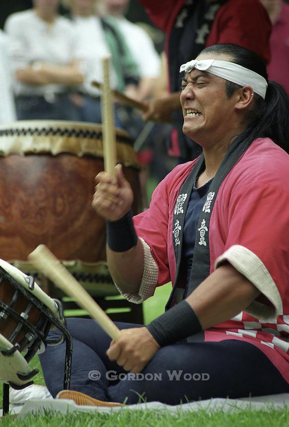 Yakudo Japanese Drummer
