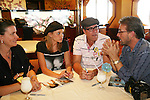 Mandy Bruno and Robert Bogue and fans- Final Meet and Greet - Day 5 - Wednesday August 4, 2010 - So Long Springfield at Sea on the Carnival's Glory (Photos by Sue Coflin/Max Photos)