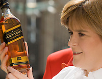 25/07/9 Sturgeon backs Johnnie Walker