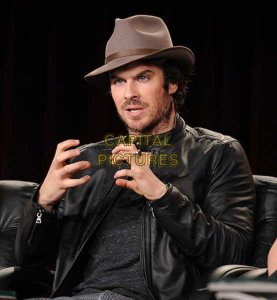 PASADENA, CA - JANUARY 11: Ian Somerhalder attends The Vampire Diaries and The Originals presentation at the CW 2015 Winter Television Critics Association (TCA) press tour at The Langham Huntington Hotel and Spa on January 11, 2015 in Pasadena, California. <br /> CAP/MPI/PGFM<br /> &copy;PGFM/MPI/Capital Pictures