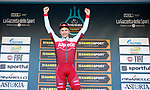 Marcel Kittel (GER) Team Katusha Alpecin wins Stage 6 of the 53rd edition of the Tirreno-Adriatico 2018 running 153km from Numana to Fano, Italy. 12th March 2018.<br /> Picture: LaPresse/Spada | Cyclefile<br /> <br /> <br /> All photos usage must carry mandatory copyright credit (&copy; Cyclefile | LaPresse/Spada)