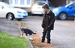 Cat follows five year old to school and sits in on lessons