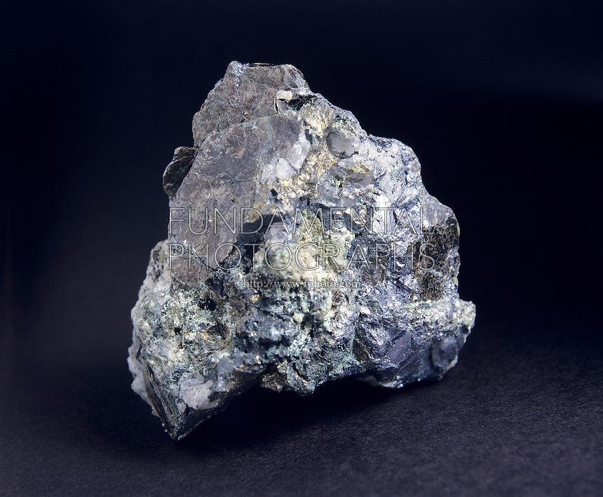 MOLYBDENITE- primary ore of MOLYBDENUM, MoS2<br /> Secondary Molybdenum minerals (molybdates) formed as result of weathering