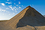 The Great Pyramid of Luning (aggregate pile by borrow pit along US 95)