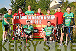 Ring Of North Kerry Cycle : Pictured on Friday night to announce the 2012 Ring of North Kerry Cycle in aid of Ballybunion Sea & Cliff Rescue Sevice in conjunction with The Finuge Freewheelers Cycling Club were in front Tom Regan, Brian McCarthy, Maurice Lyon & Joe Enright. Back: PJ O'Gorman, Johnny Joy, Emmett Lynch, Pat Joe O'Sullivan & Brian Mannion.