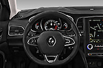 Car pictures of steering wheel view of a 2016 Renault Megane Bose 5 Door Hatchback Steering Wheel