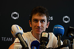Geraint Thomas (WAL) Team Ineos at the team press conference before the 2019 Tour de France starting in Brussels, Belgium. 5th July 2019<br /> Picture: Pete Goding | Cyclefile<br /> All photos usage must carry mandatory copyright credit (© Cyclefile | Pete Goding)