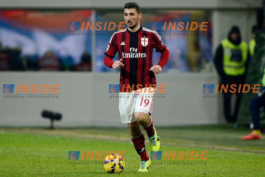Salvatore Bocchetti Milan<br /> Milano 01-02-2015 Stadio Giuseppe Meazza - Football Calcio Serie A Milan - Parma. Foto Giuseppe Celeste / Insidefoto