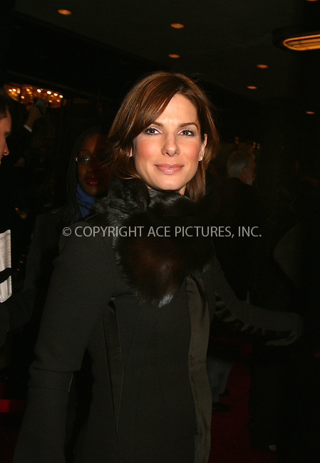 "Sandra Bullock at the opening of ""La Boheme"" on Broadway. New York, December 8, 2002. Please byline: Alecsey Boldeskul/NY Photo Press.   ..*PAY-PER-USE*      ....NY Photo Press:  ..phone (646) 267-6913;   ..e-mail: info@nyphotopress.com"