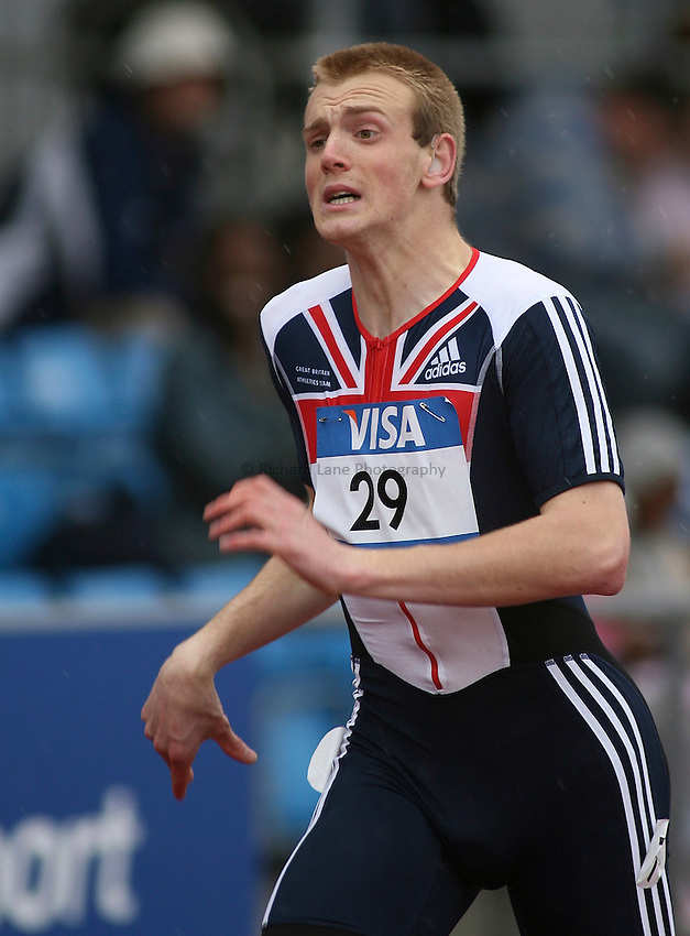 Photo: Paul Thomas..VISA Paralympic World Cup 2007. Athletics. 13/05/2007...Ben Rushgrove of Great Britain.